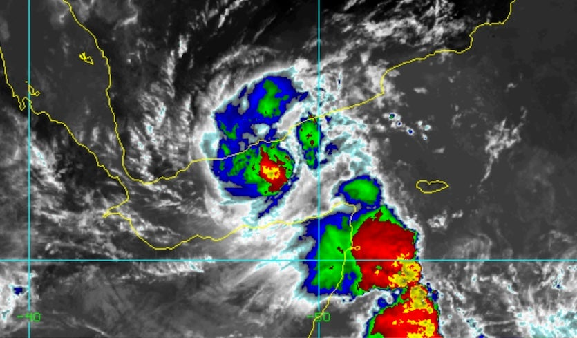 Rare Tropical Storm in Gulf of Aden May Affect Yemen ... on detailed map of yemen, road map of yemen, outline map of yemen, terrain map of yemen, political map of yemen, physical map of yemen, topographic map of yemen,