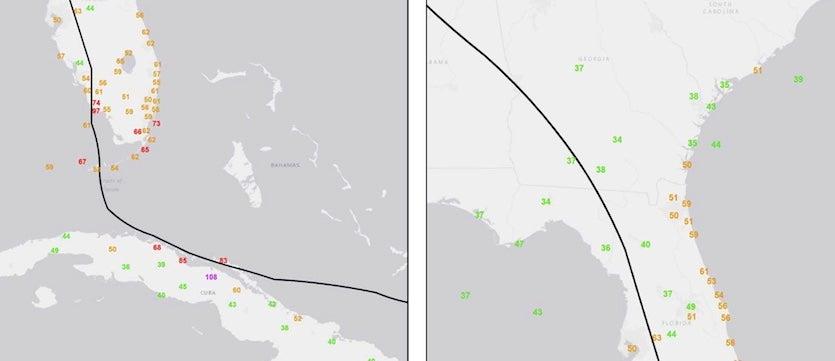 Hurricane Winds At Landfall A Measurement Challenge By Bob Henson