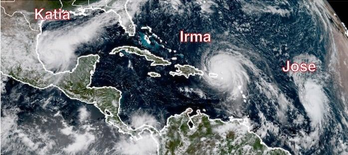 3  hurricanes