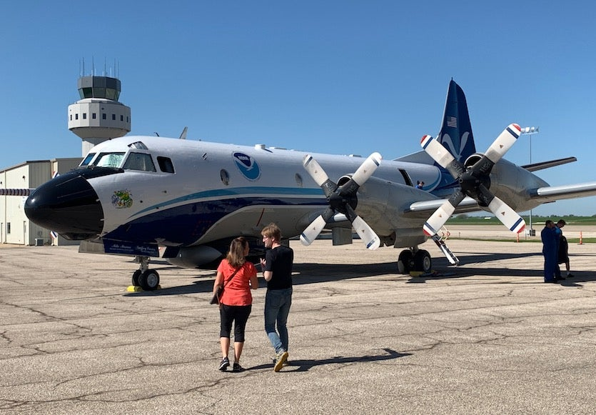 at the Salina Regional Airport on TORUS media day, Tuesday, May 14, 2019