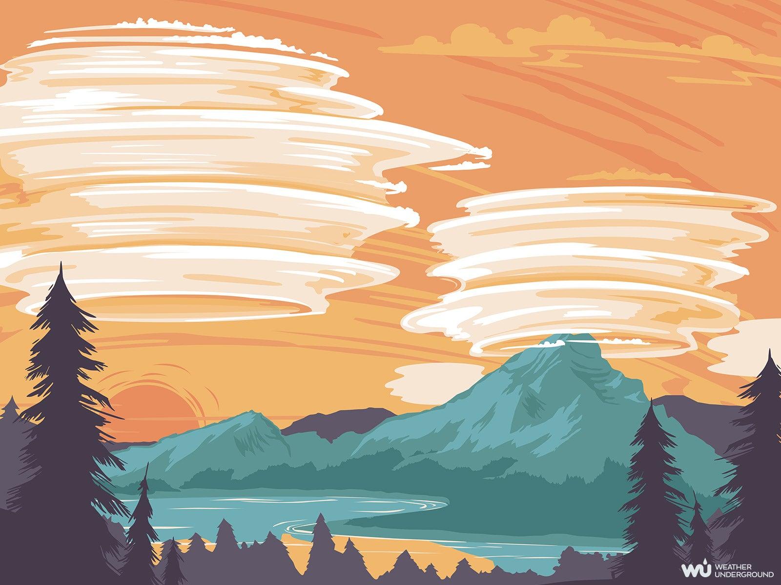 Lenticular Clouds | Weather Underground