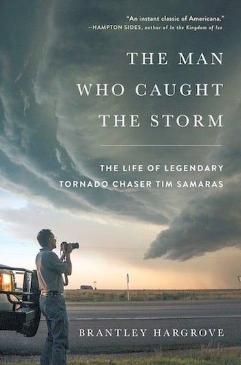 "Cover of ""The Man Who Caught the Tornado"""