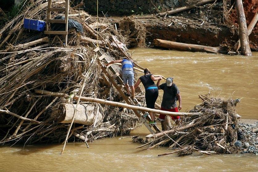Maria flood damage