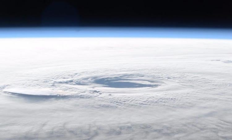 Hurricane Maria from Int'l Space Station, 9/21/2017