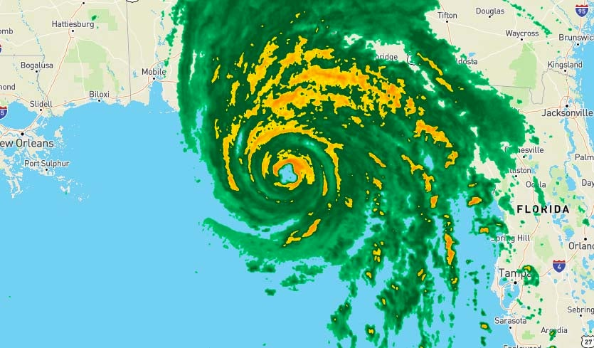 Hurricane Michael Makes Landfall In Florida Panhandle By Dr Jeff