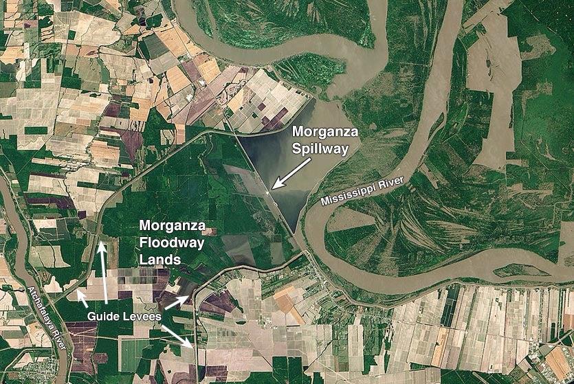 Morganza Spillway