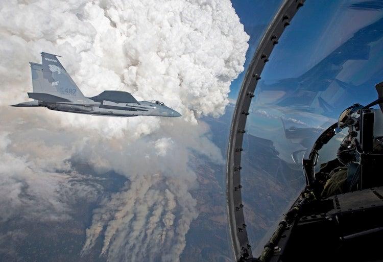 Pyrocumulus in Oregon, 7/31/2014