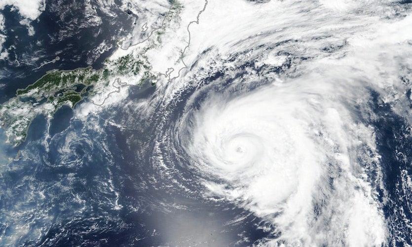 Typhoon Shanshan as seen by NASA's Aqua satellite on 8/6/2018
