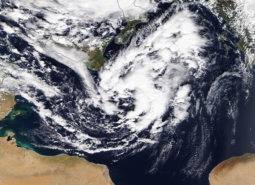 MODIS image of Numa, 11/16/17