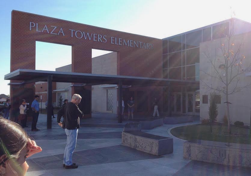 Rebuilt Plaza Towers Elementary School in Moore, OK