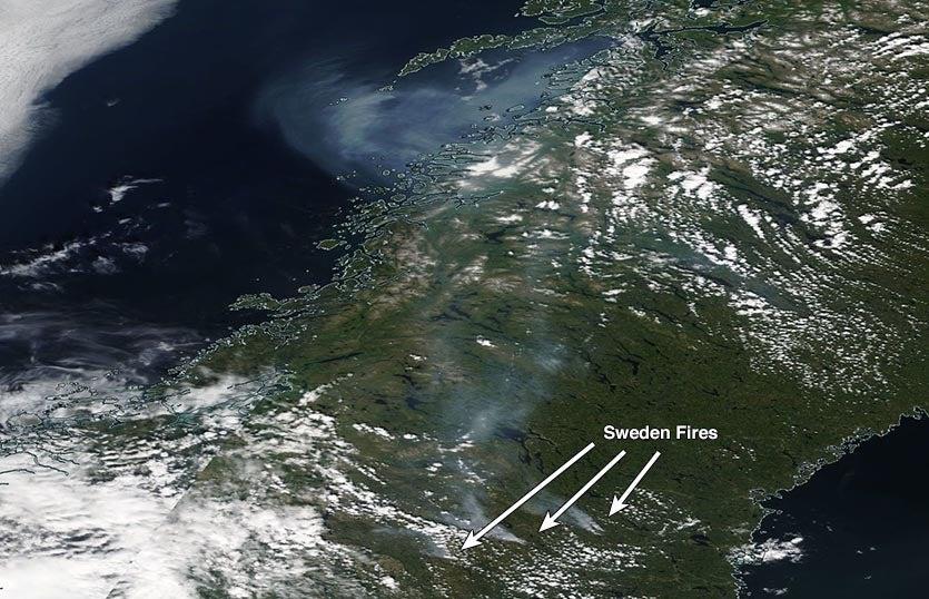 Sweden fires
