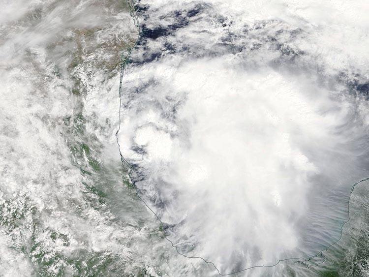 MODIS image of TD 13, 9/5/2017
