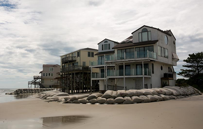 Topsail Island before Florence