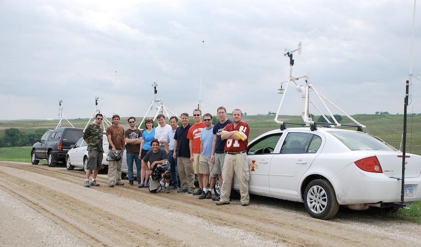 TWISTEX team in Iowa, circa 2009