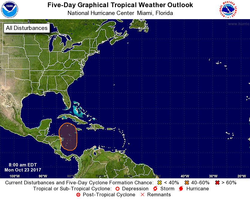 Watching The Western Caribbean For Tropical Cyclone Formation By Dr