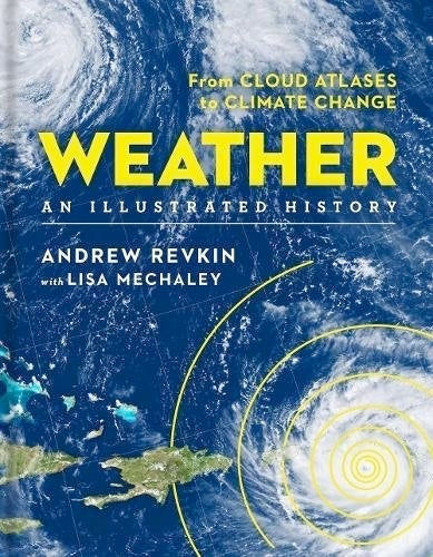 """Cover of """"Weather: An Illustrated History"""""""