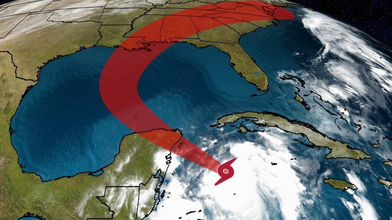 Tropical Storm Zeta to Strengthen Into a Hurricane as it Heads For Mexico, U.S. Gulf Coast | The Weather Channel - Articles from The Weather Channel | weather.com