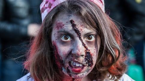 How To Create the Perfect Zombie Makeup